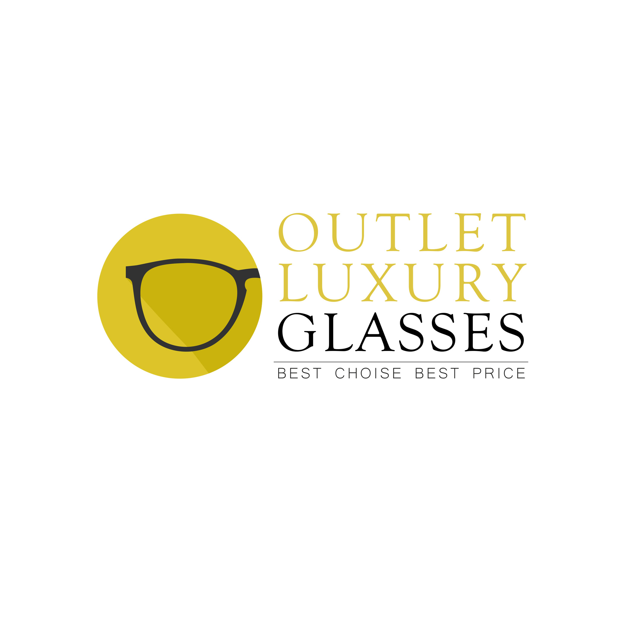 Proposta di logo per Outlet Luxury Glasses - Starbytes contest
