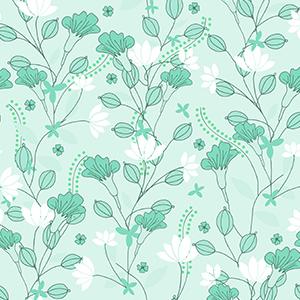 Pattern floreale vintage